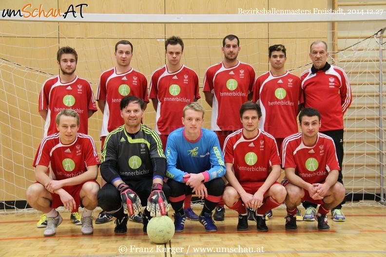 Foto SV Freistadt beim Bezirkshallenmasters 2014