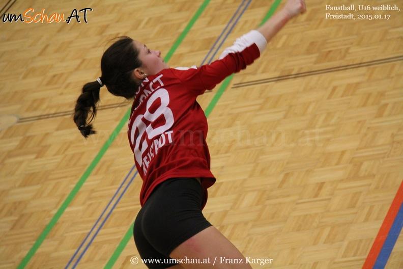 3.Runde Faustball U16 weiblich in Freistadt