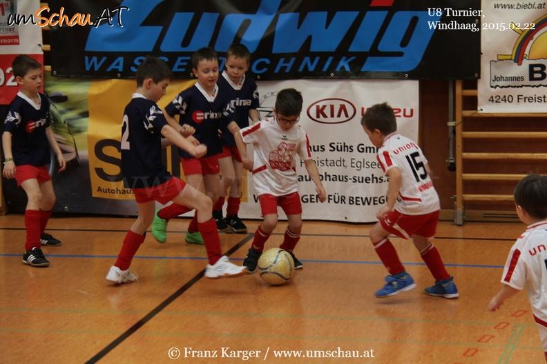 Fußballknirpse matchen sich bei U8 Turnier in Windhaag/Fr.