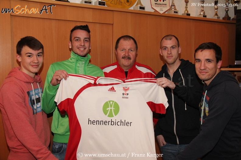 Foto Neuzugänge beim SV Hennerbichler Freistadt
