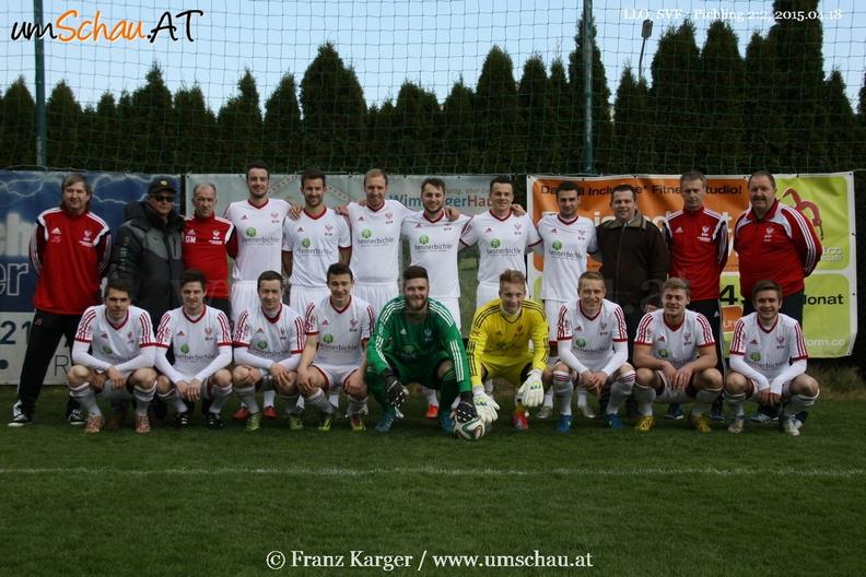 Foto aktueller Kader Kampfmannschaft SV Freistadt