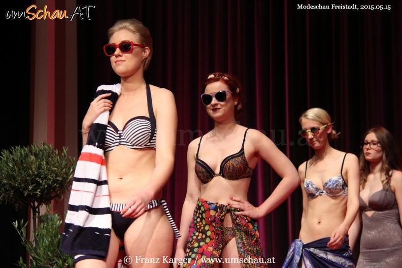Modeschau bei Freistädter Einkaufsnacht