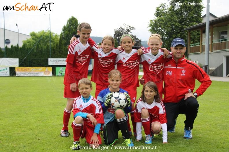 Foto U9 Freistadt A Mädchenteam