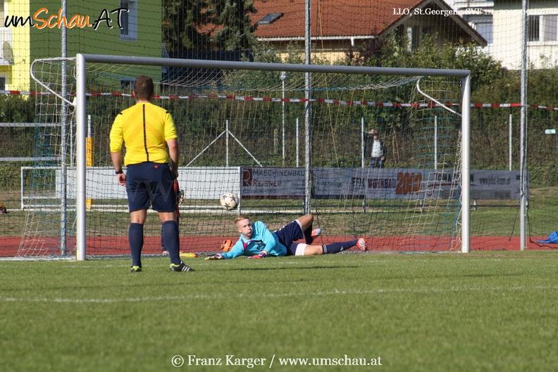 Foto Spielszene St.Georgen/Gusen : SV Freistadt Peter Stöglehner