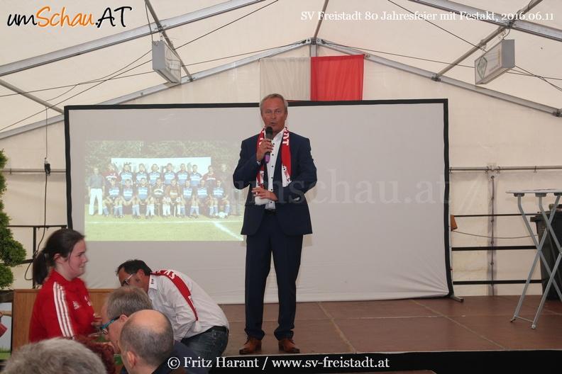 Foto Festakt SV Freistadt 80 Jahre - Wolfgang Kohlberger