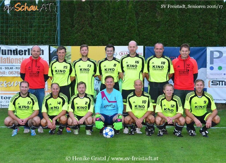 Foto SV Freistadt Oldstars