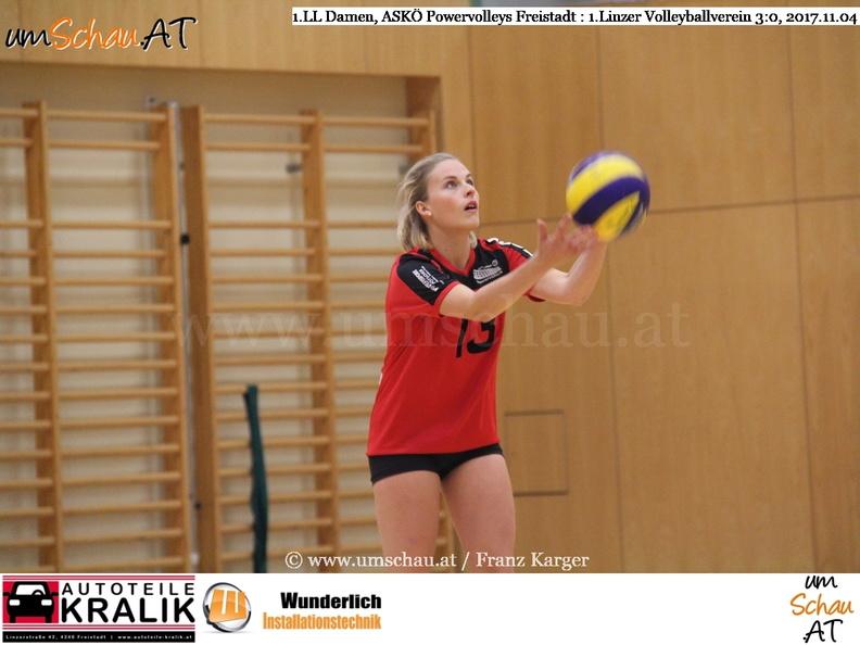 Foto ASKÖ Powervolleys Freistadt Katharina Daschill