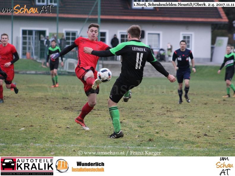 Foto 1. Nord Fussball OÖ Schenkenfelden : Neustift/Oberkappel