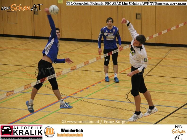Foto Faustball Bundesliga Österreich AWN TV Enns : FBC ABAU Linz Urfahr