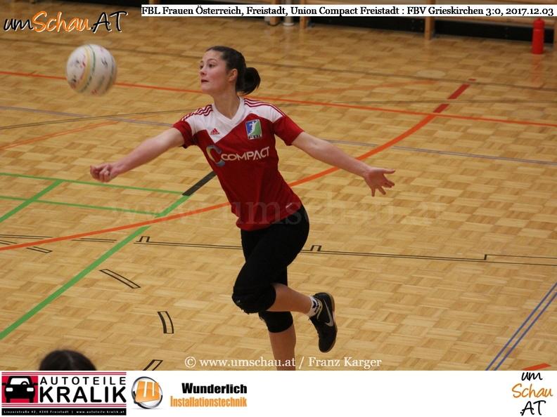 Faustball Bundesliga Frauen Union compact Freistadt : FBV Grieskirchen