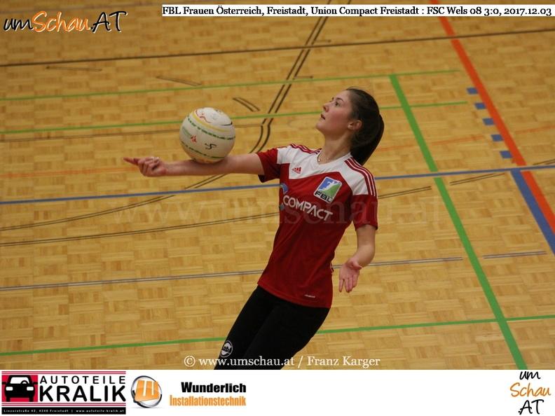 Faustball Bundesliga Frauen Union compact Freistadt : FSC Wels 08