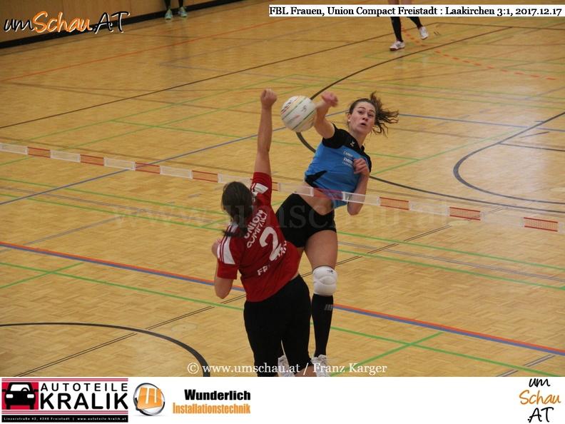 Faustball Bundesliga FrauenUnion Compact Freistadt : ASKÖ Laakirchen Papier