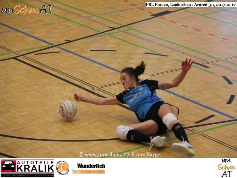 Faustball Bundesliga Frauen ASKÖ Laakrichen Papier : Union Arnreit