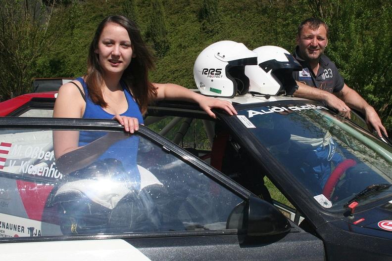 Foto Rallyeteam Osskies Viktoria Kiesenhofer und Markus Ossberger