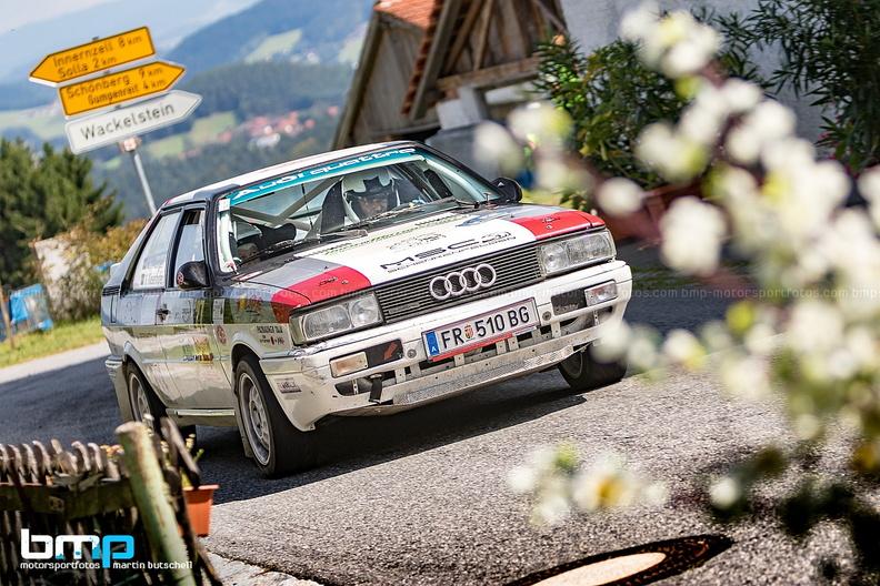 Foto Rallyeteam OssKies Markus Ossberger und Viktoria Kiesenhofer