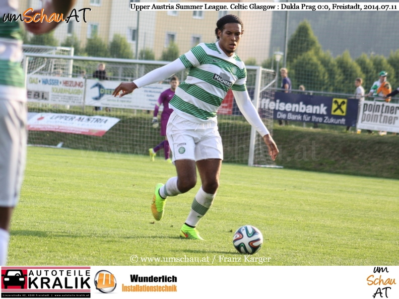 Foto Celtic Glasgow Virgil van Dijk in Freistadt