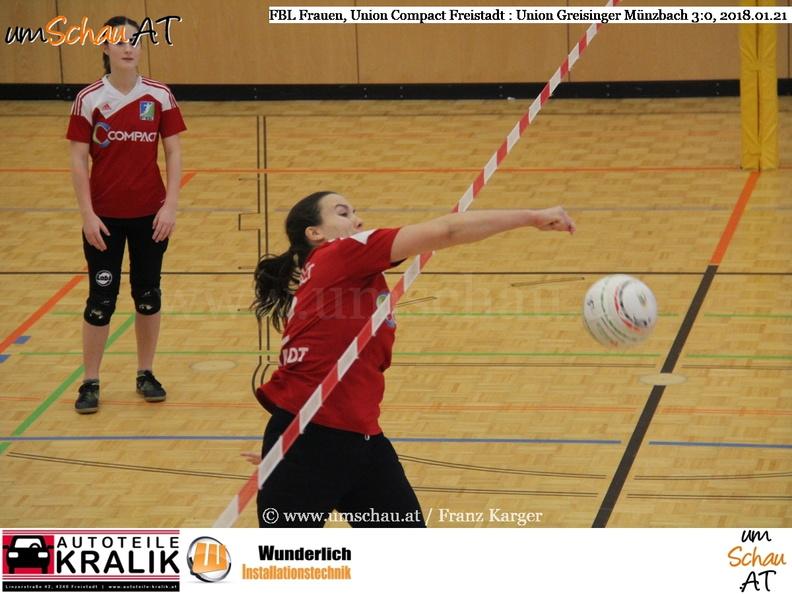 Foto Romana Schober im Spiel Union Compact Freistadt : Union Greisinger Müzbach