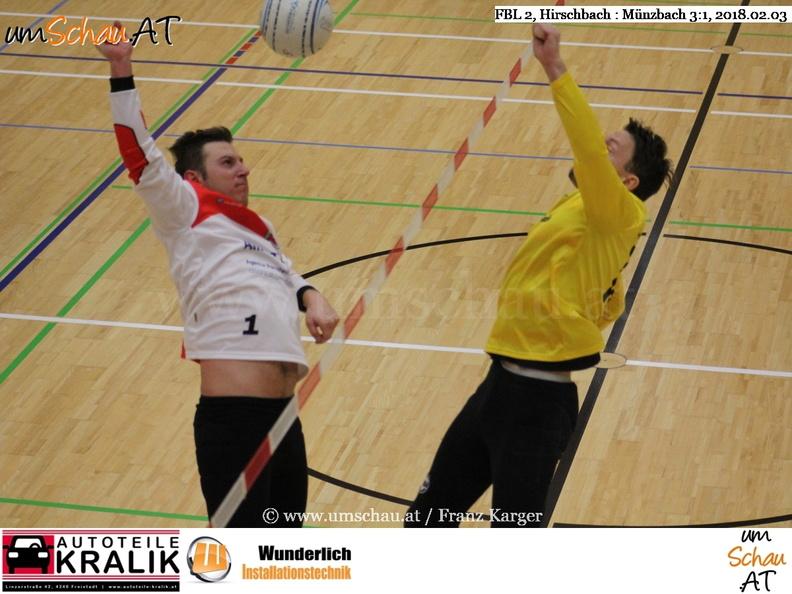 Foto Faustball Bundesliga 2 - Hirschbach : Münzbach