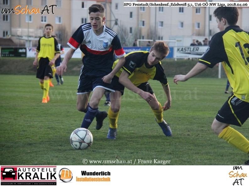 Foto U16 SV Freistädter Bier Schenkenfelden Union Edelweiss OÖ Nachwuchsliga (c) www.umschau.at