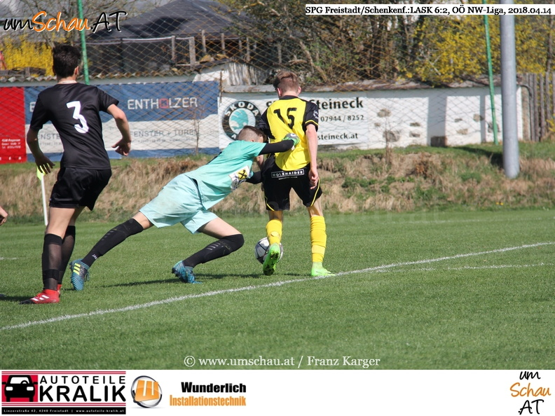 Foto U16 SPG Freistadt/Schenkenfelden : LASK FC Juniors OÖ (c) www.umschau.at