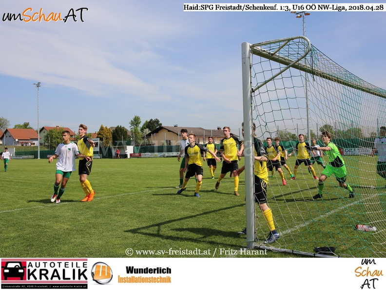 Spielszene Haid : SPG Freistadt/Schenkenfelden 1:3, (c) www-umschau.at, Fritz Harant