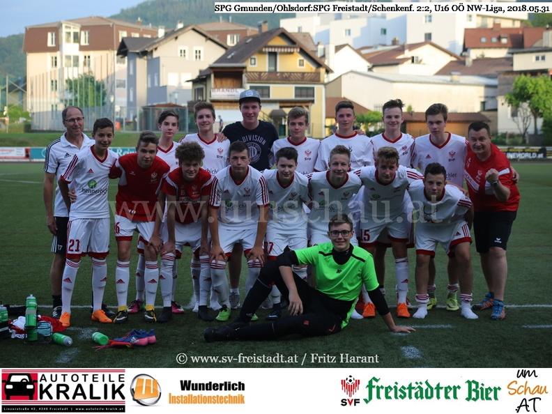 Foto U16 SPG Freistadt/Schenkenfelden