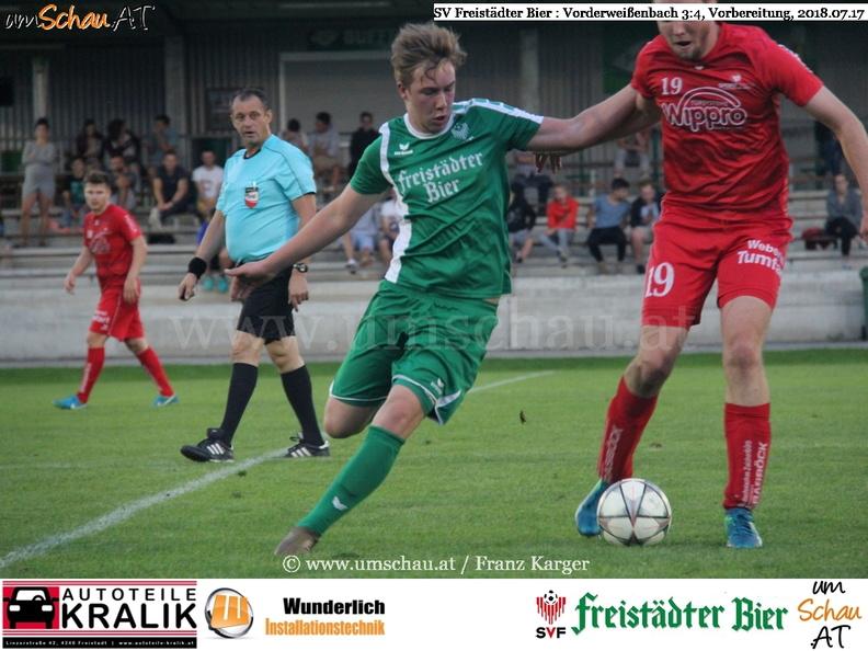 Foto Spielszene SV Freistädter Bier Simon Sonnberger