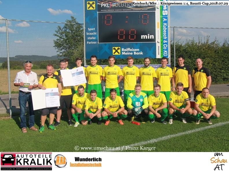 Foto Union Rainbach/Mkr. Meister 2.Nordmitte