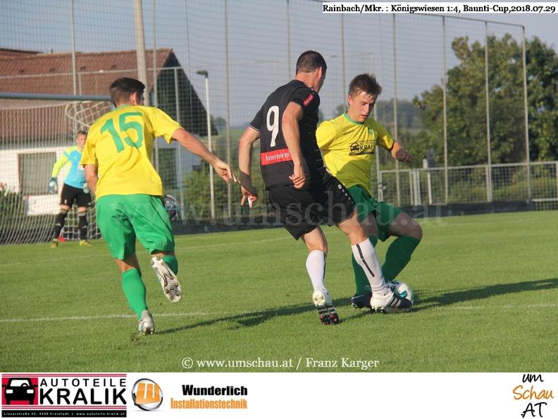 Foto Spielzene Baunti Cup Rainbach/Mkr : Königswiesen