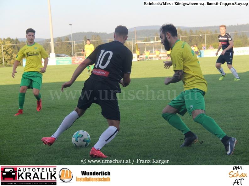 Foto Spielszene Baunti Cup Rainbach/Mkr. : Königsweisen