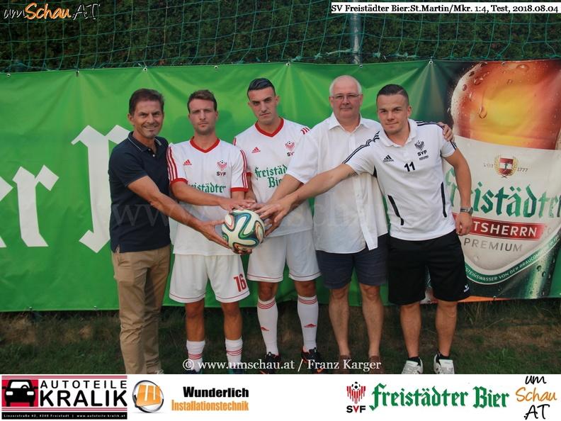 Foto Neuzugänge des SV Freistädter Bier