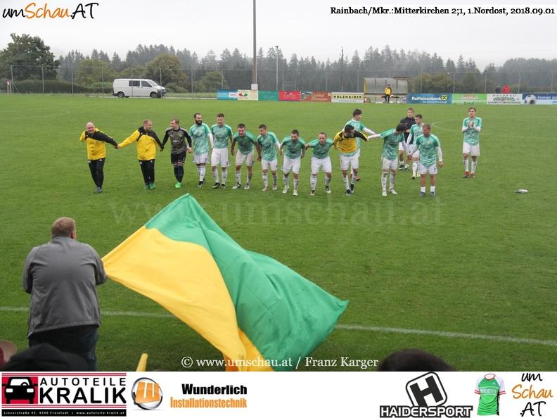 Foto Spielszene Rainbach/Mkr. : Mitterkirchen Rainbach Ultras