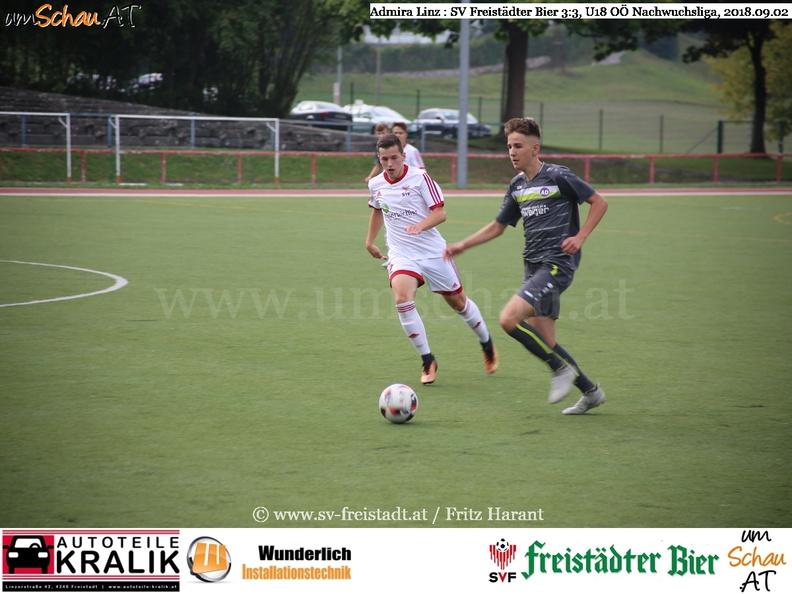 Foto Spielszene U18 SV Freistädter Bier Mathias Graser