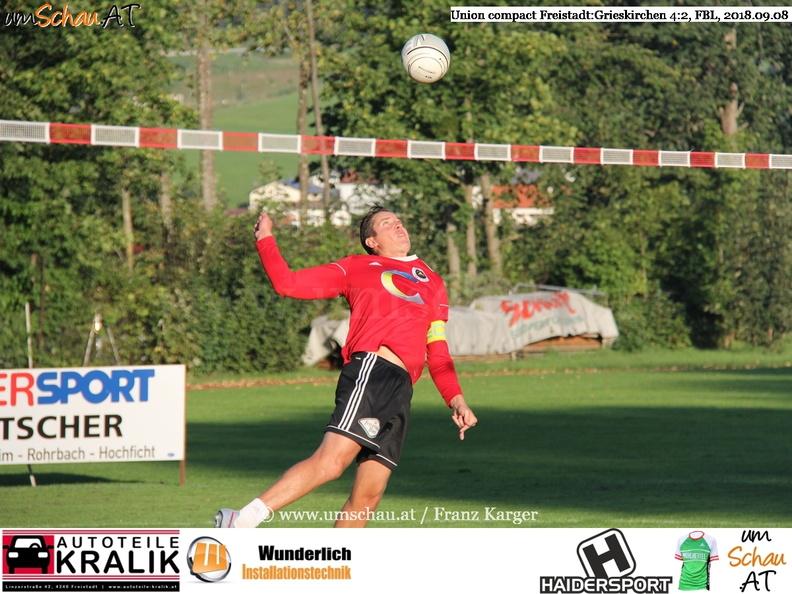 Foto Union compact Freistadt : Grieskirchen Faustball Bundesliga (c) www.umschau.at / Franz Karger