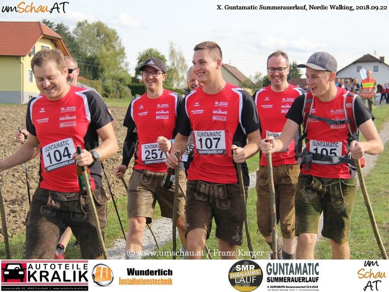 Foto X Guntamatic Summerauerlauf Nordic Walking