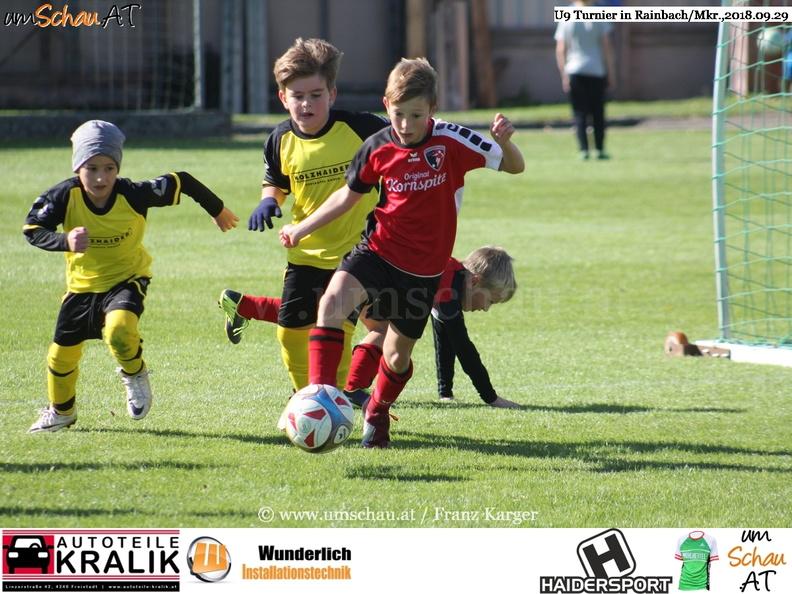 Foto U9 Turnier in Rainbach/Mkr.