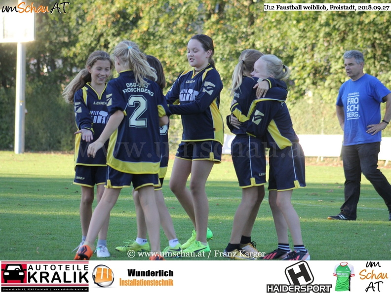 Foto U12 Faustball Union compact Freistadt