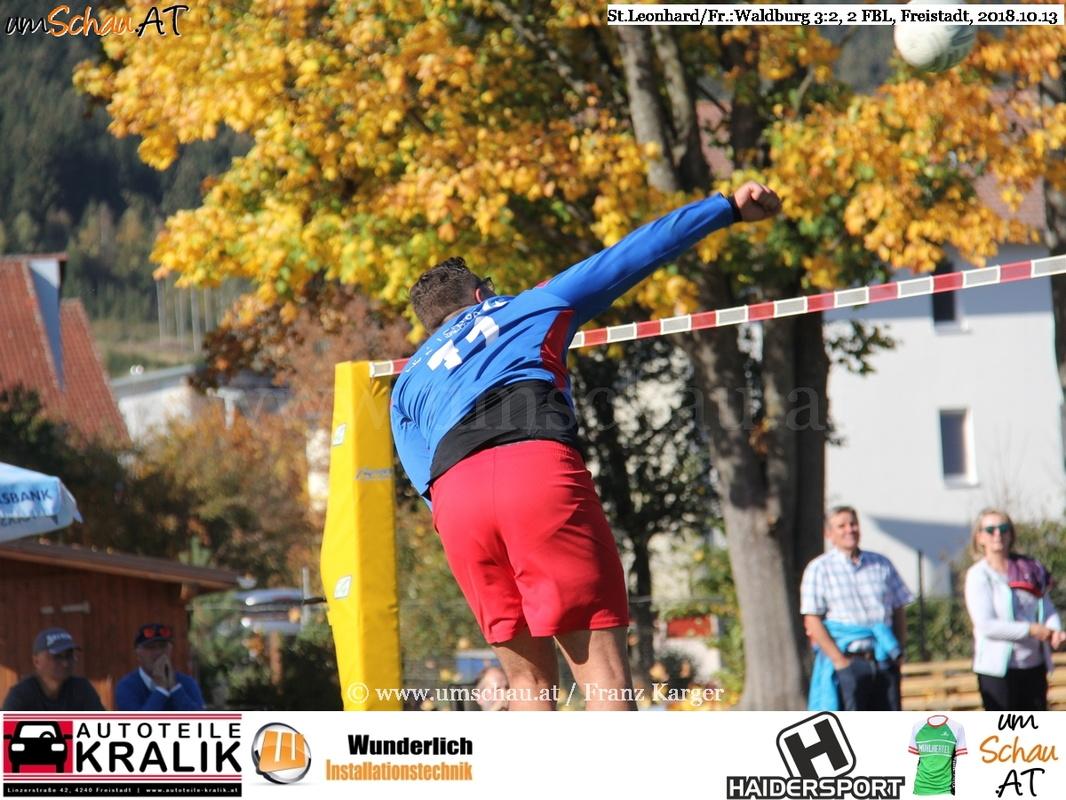 Foto Faustball Bundesliga 2 Union Waldburg : Union tgaplan St.Leonhard/Freistadt