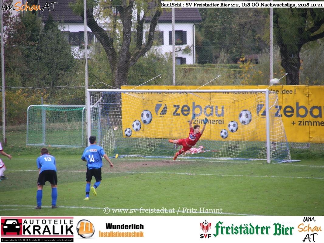 Foto U18 OÖ Nachwuchsliga Bad Ischl : SV Freistädter Bier