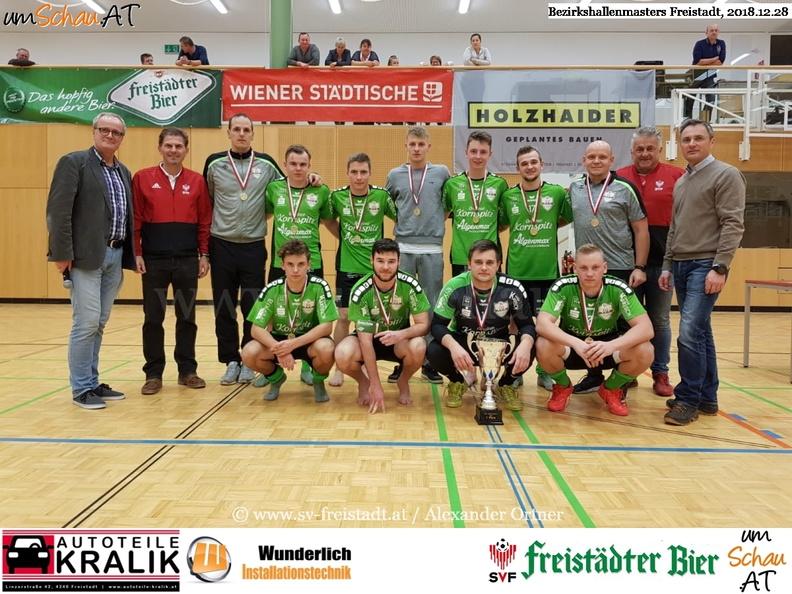 Foto Sieger Bezirkshallenmasters Freistadt SPG Pregarten