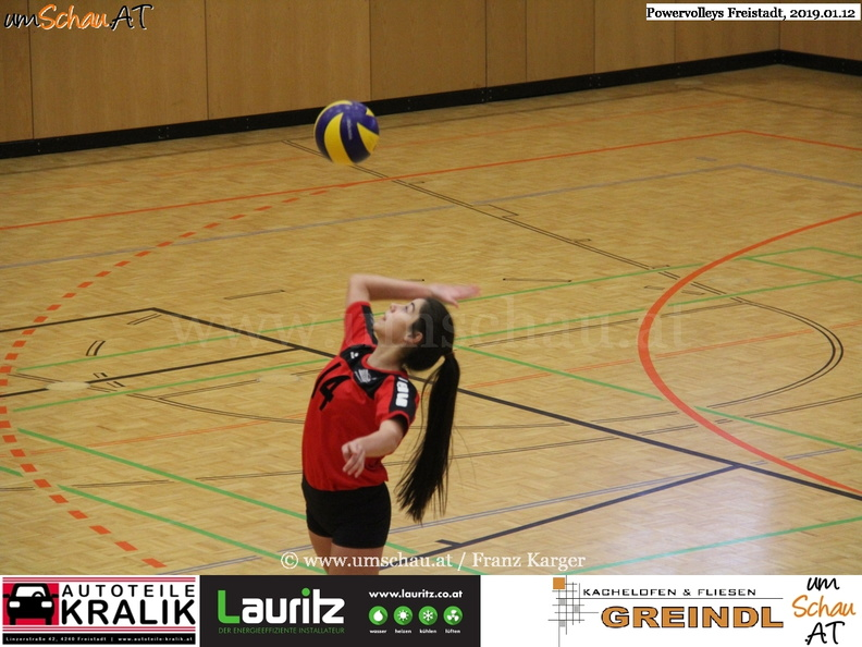 Foto Volleyball Powervolleys Freistadt Cansu Carikci (c) Foto www.umschau.at