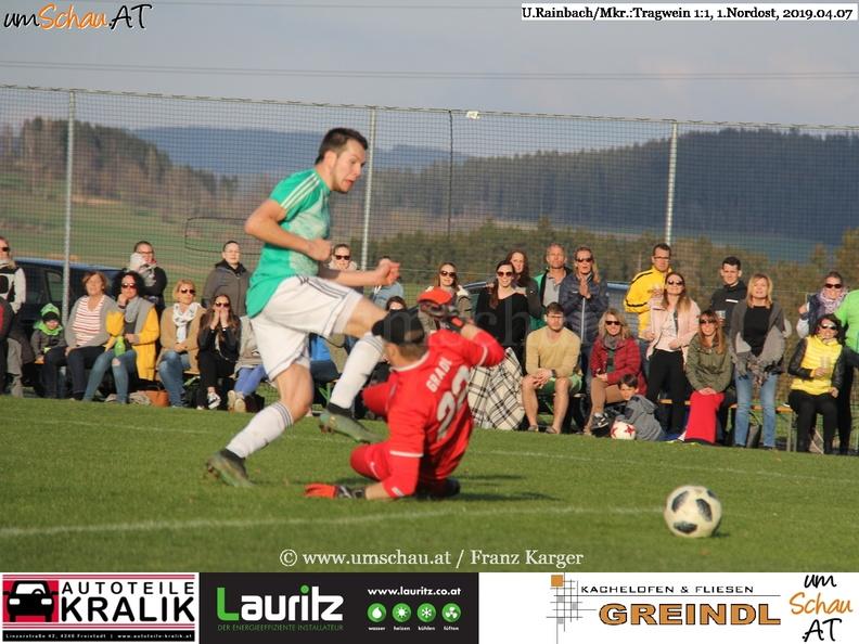 Foto Spielszene Union Rainbach/Mkr. : Tragwein/Kamig 1.Nordost