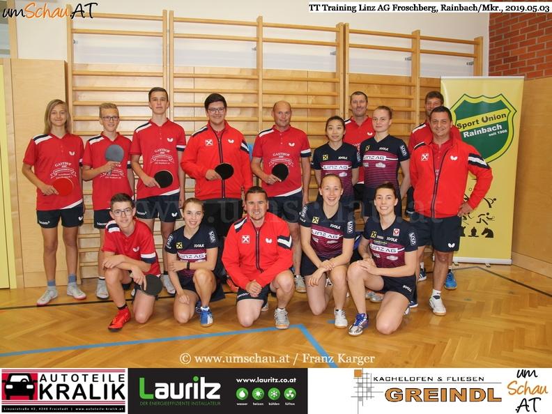 Foto Tischtennis Linz AG Froschberg in Rainbach/Mkr.