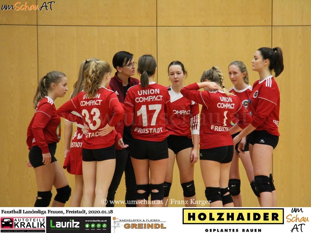Foto Faustball Landesliga Frauen