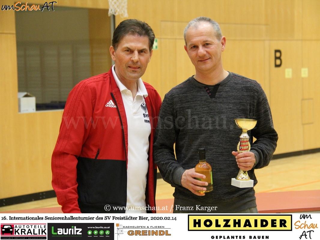 Foto Seniorenturnier SV Freistädter Bier Zbynek Ginzel