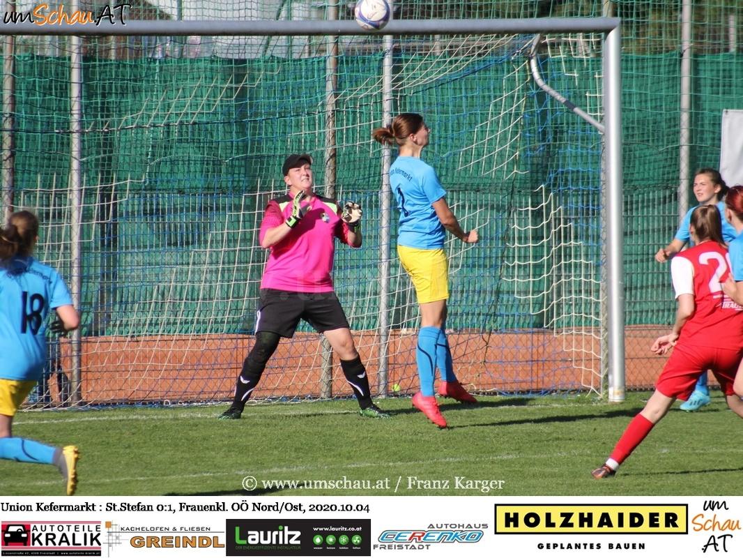 Foto Union Kefermarkt vs. St.Stefan Frauenklasse Nord