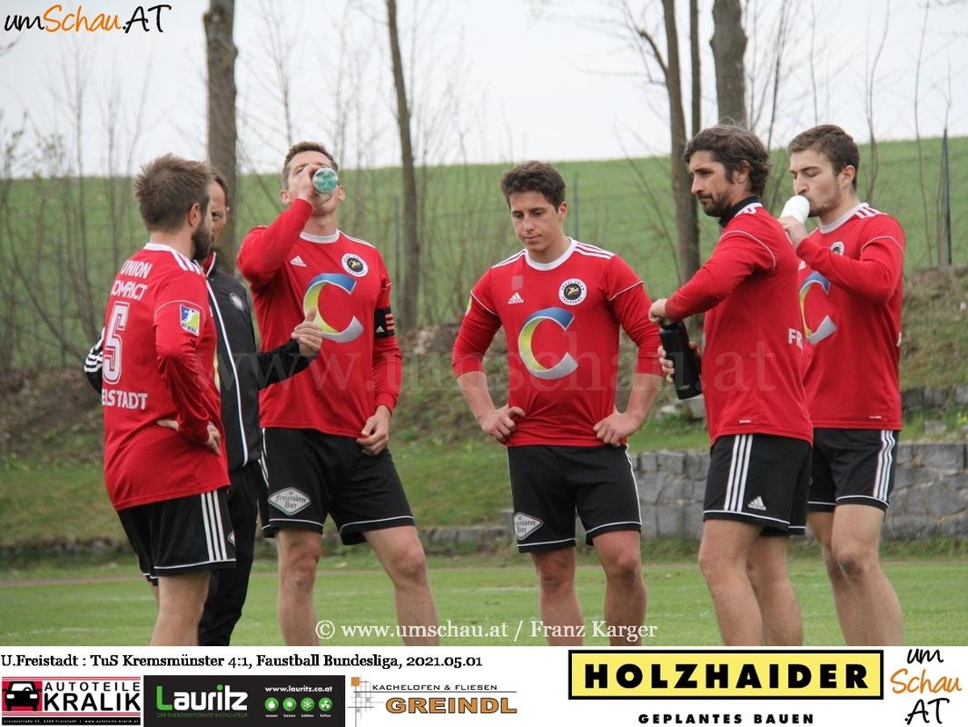 Foto: Union compact Freistadt : TuS Kremsmünster,  FBL,  Faustball Bundesliga,  umschau.at