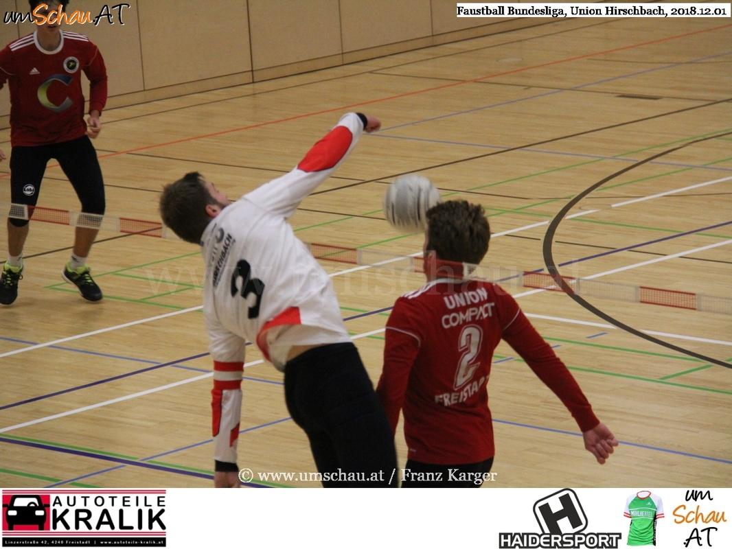 Foto Faustball Bundesliga Union Hirschbach : Union compact Freistadt