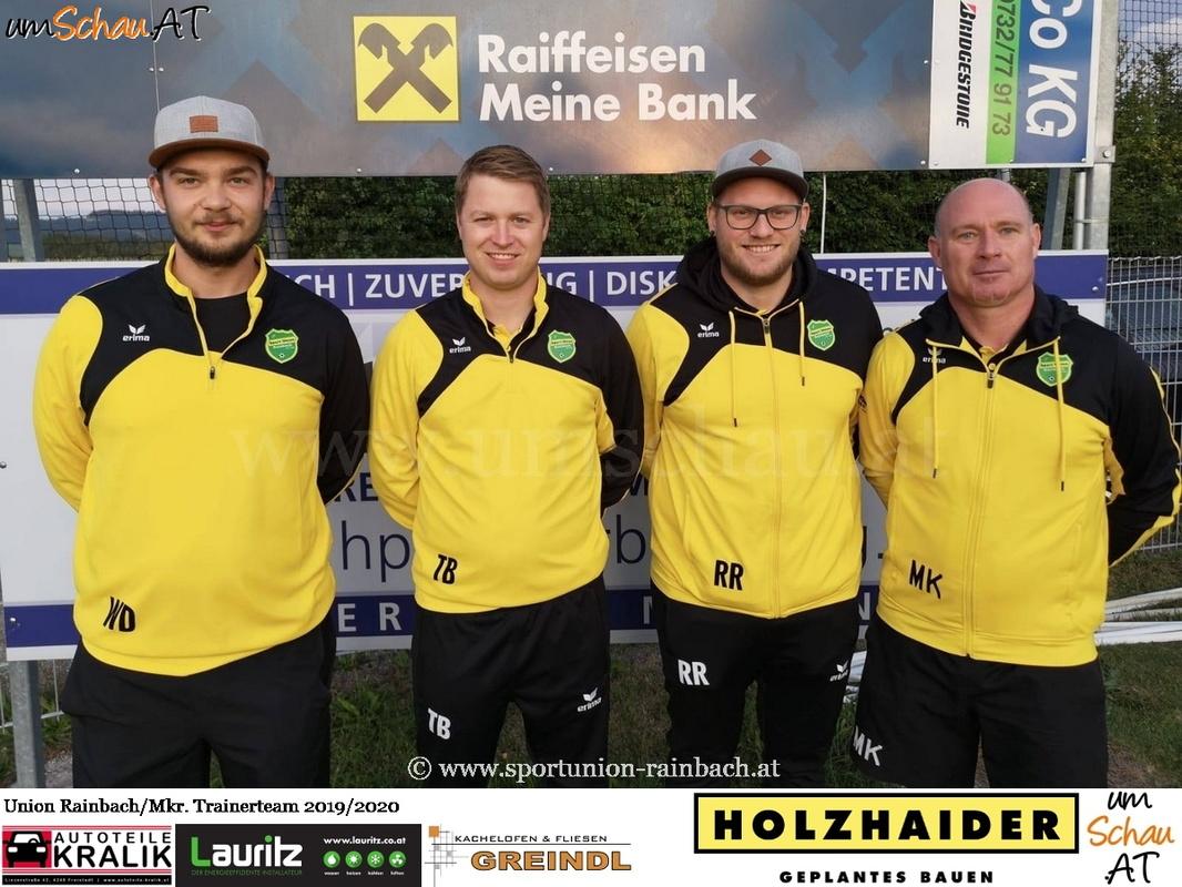 Foto Trainerteam Union Rainbach/Mkr