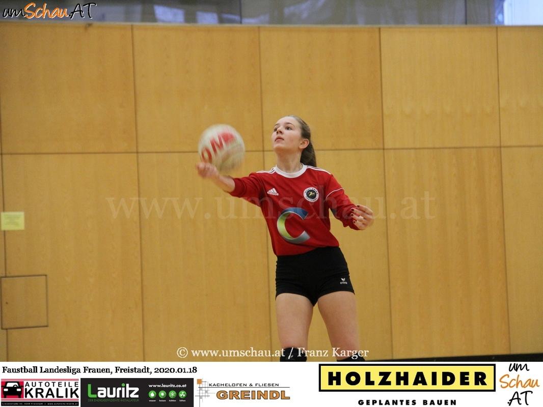 Foto Frauen Faustball Landesliga